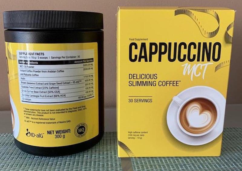 Hogyan készítsd el a Cappuccino MCT terméket